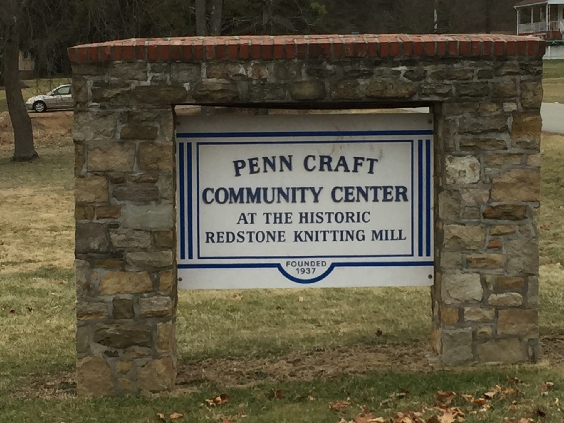 Sign for Penn-Craft Community Center